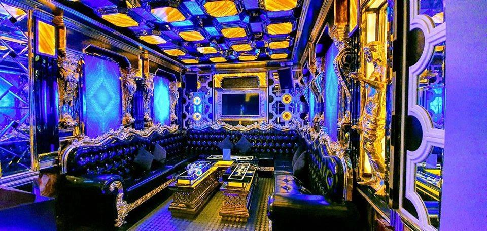 Dự án thiết kế thi công nội thất karaoke La Royal vip 1